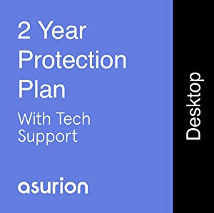 ASURION 2 Year Desktop Computer Protection Plan with Tech Support $300-349.99