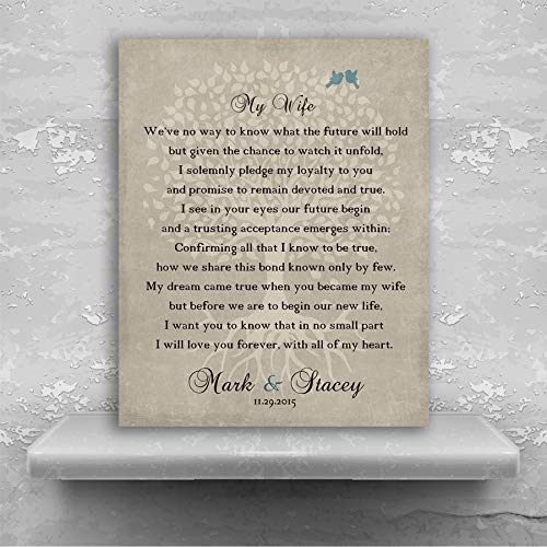 Amazon Gift From Groom To Bride Wedding Day Gift Gift For