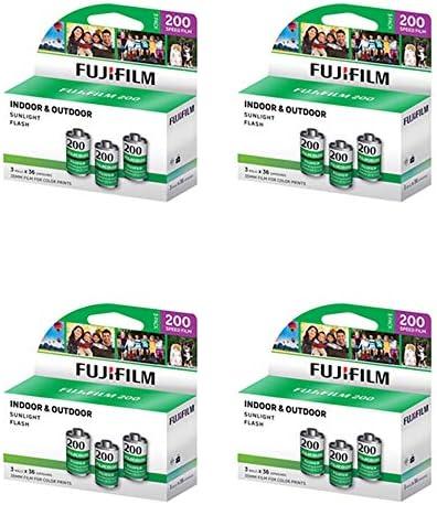 Fuji Superia 200 135-36 35mm フィルム 3パック カラー CA (12ロール)