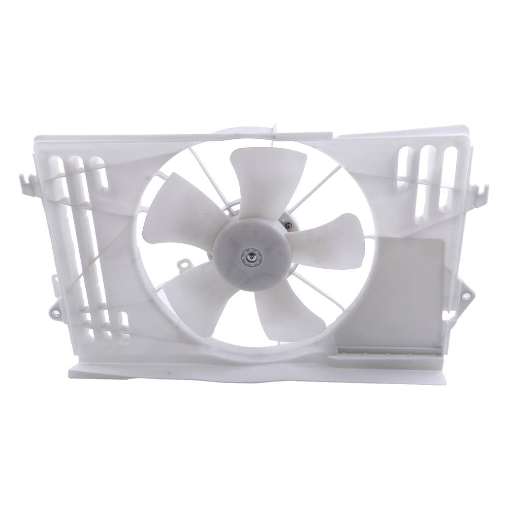 ECCPP Radiator Condenser Cooling Fan Assembly Replacement fit for 2003 2004 2005 2006 2007 2008 Pontiac Vibe Toyota Corolla/Matrix TO3115125