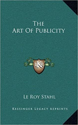 The Art of Publicity the Art of Publicity