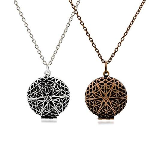 Metal Accessory Necklace Set - 7