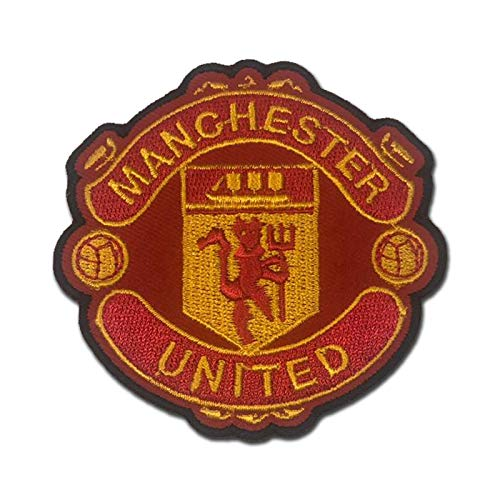 Manchester United MUFC Man U Red and Black Border 3