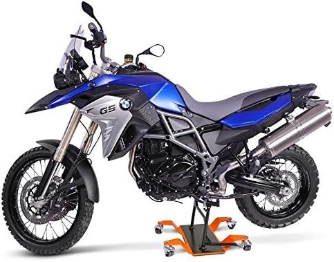 Motorrad Rangierhilfe f/ür Piaggio MP3 500 Business//LT Orange Hauptst/änder Rangierwagen ConStands Mover II 320 kg