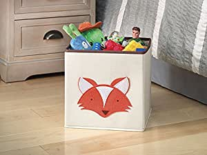 Whitmor  Kid's Canvas Collection Fox Collapsible Cube