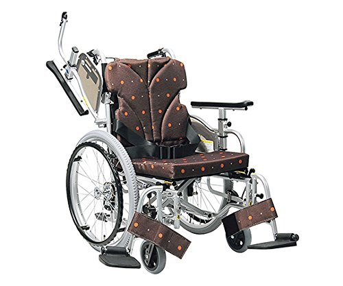 カワムラサイクル7-2303-01簡易モジュール車椅子(低床型) B07BD3HZGV