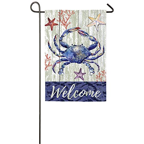 welcome crab safe double sided
