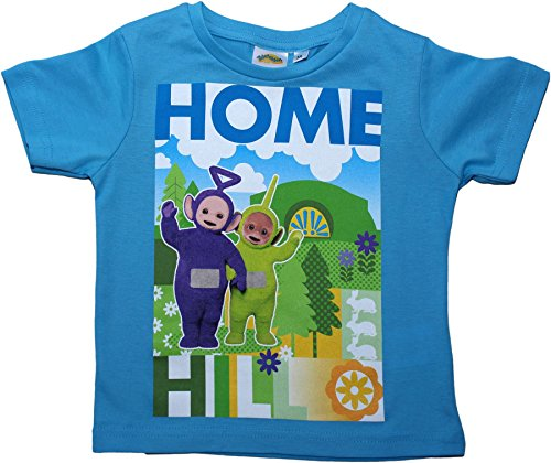 Teletubbies Friends Forever Short Sleeve T Shirt 3 Years Blue By BestTrend