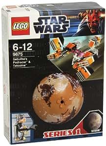 LEGO Star Wars 9675 - Sebulba's Podracer y Tatooine