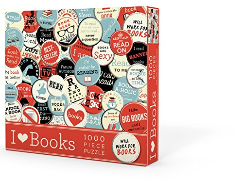 I Heart Books Puzzle