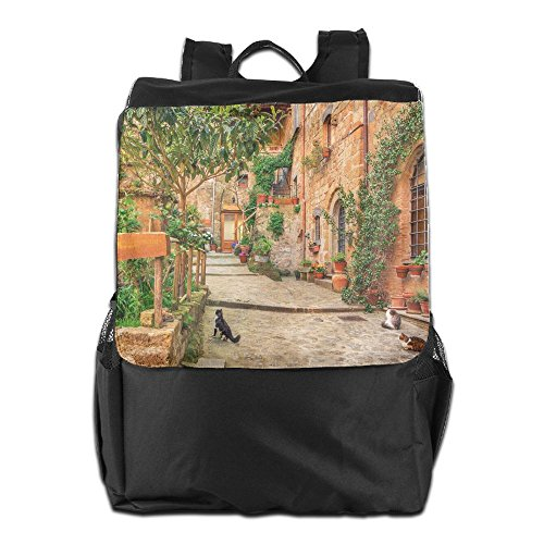 Rustic Tuscan Style Italy Unisex Casual Hiking Bag by HIFUN