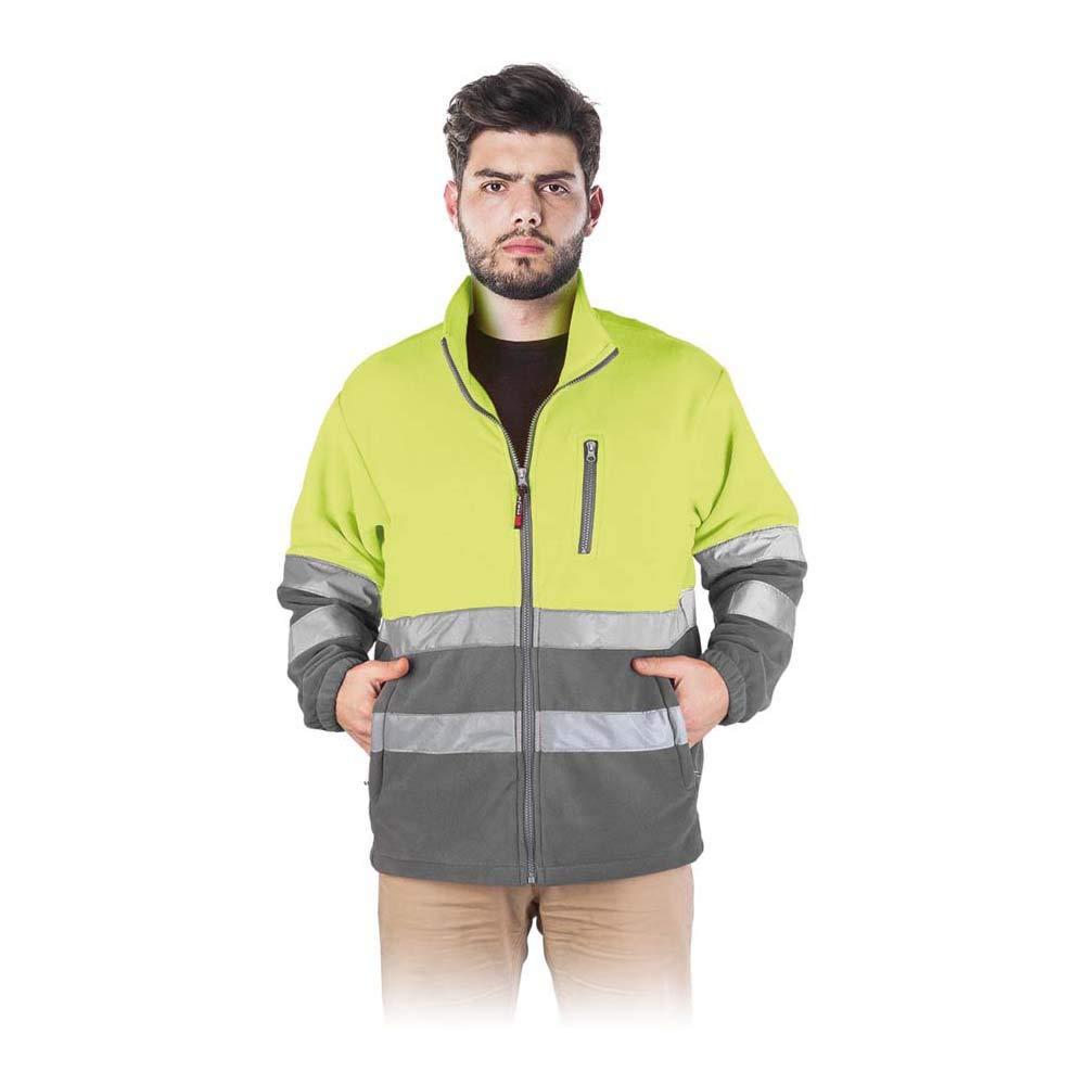 Reis Polstrip/_Ysxl Veste de protection en polaire Jaune//gris Taille XL