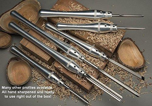 "Carter /& Sons Toolworks #S34-12 3//4/"" Skew Chisel"