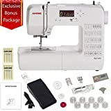 Janome DC1050 Computerized Sewing Machine with 1/4 Inch Seam Foot