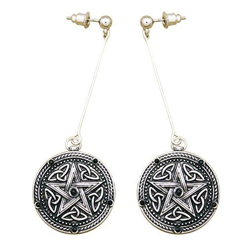 Dance Moms Silver Spoon Costumes - RechicGu Vintage Silver Celtic Pentacle Star