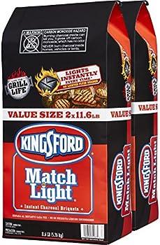 2-Pk Kingsford Match Light Charcoal Briquettes 11.6-lb