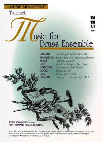 - Music for Brass Ensemble: Music Minus One Trumpet