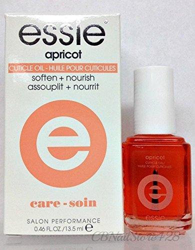 (ESSIE Nail Lacquer - Base - Top - Nail Treatment 0.46 oz/13.5ml 6030 - Apricot Cuticle Oil)
