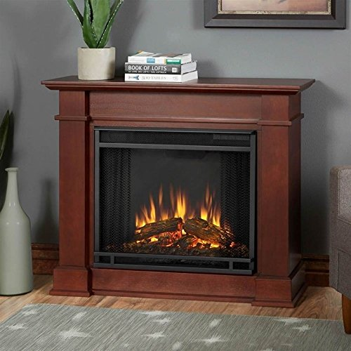 Espresso Electric Fireplace Package - 1