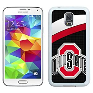 Ncaa Big Ten Conference Football Ohio State Buckeyes (4) White Best Sale Fantastic Samsung Galaxy S5 Cover Case