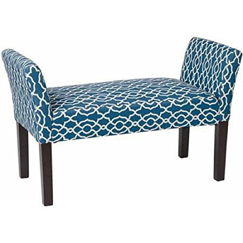 asx-kelsey-bench-multiple-colors-abby-geo-blue-a-relaxed-and-elegance-with-its-flared-side-arms-and-