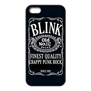 Blink 182 Design Solid Hot Design Customized Cover Case for iPhone 5 5s 5s-linda600