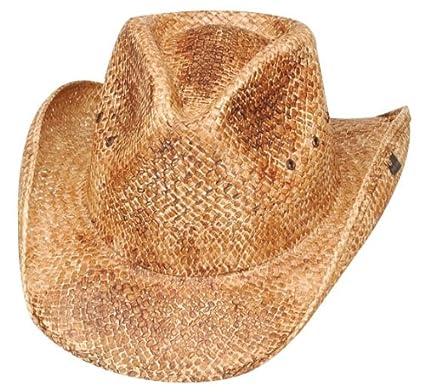 Peter Grimm Natural Straw Maverick Drifter Cowboy Hat Peter Grimm Ltd Inc