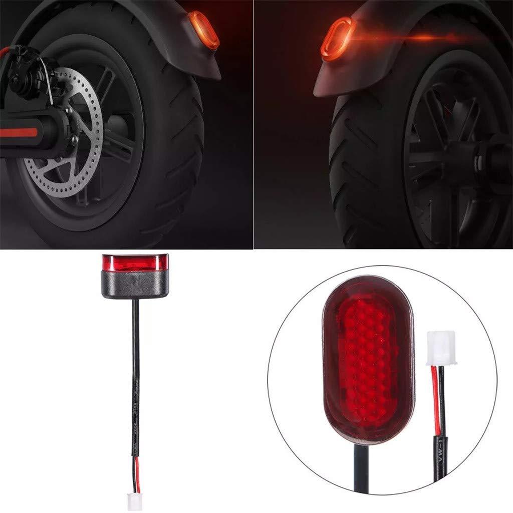 Gaddrt Lampada di coda Luce stop per scooter con linea per lampada freno stoplight Xiaomi M365 elettrica