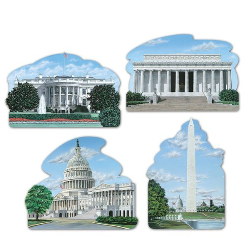 Washington DC Cutouts Party Accessory (1 count) -
