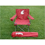 Washington State Cougars Adult Tailgate Sports Chair - NCAA College Athletics