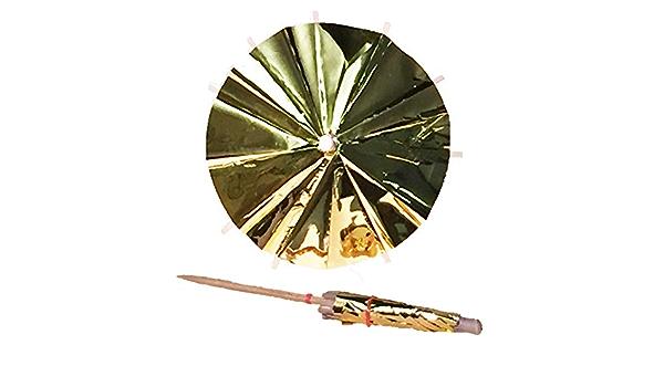 GOLD METALLIC COCKTAIL UMBRELLAS  PACK OF 30