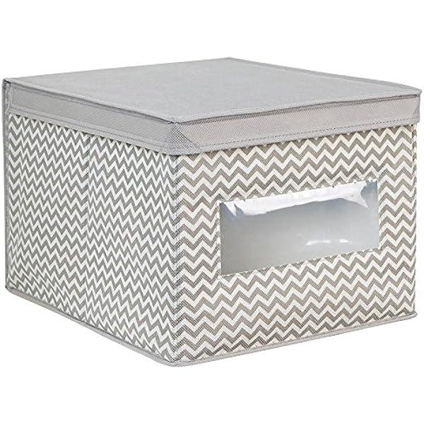 ARPAN Cesta de almacenaje, Color, Cuerda de Papel Blanca, Medium-W33xD24xH15cm: Amazon.es: Hogar