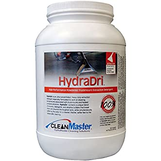 HydraDri - High-Performance Powdered Truckmount Extraction Detergent, 6.5 lb. (Pack of 4) - CleanMaster 950-100-B