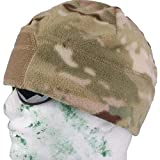 AIRSOFT MULTICAM MTP BEANIE WITH VELCRO PATCH @ HELMET WORLD