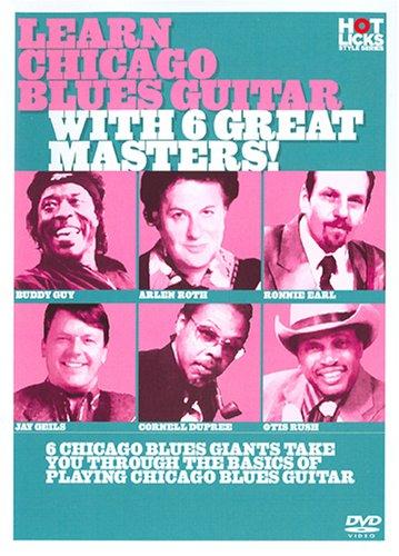 Arlen Roth - Learn Chicago Blues with 6 Great Masters (Subtitled)