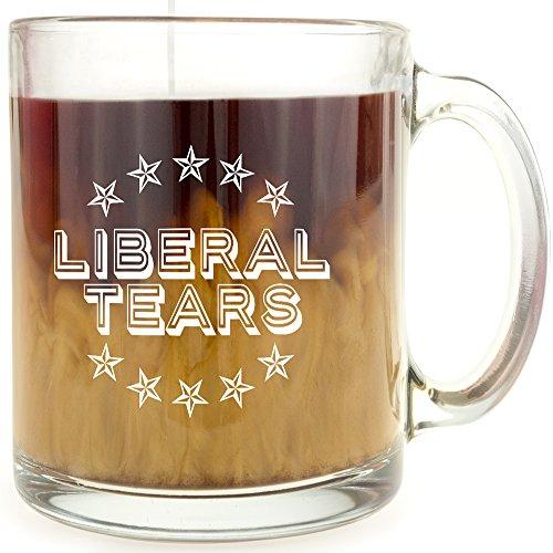 Liberal Tears Glass Coffee Mug product image