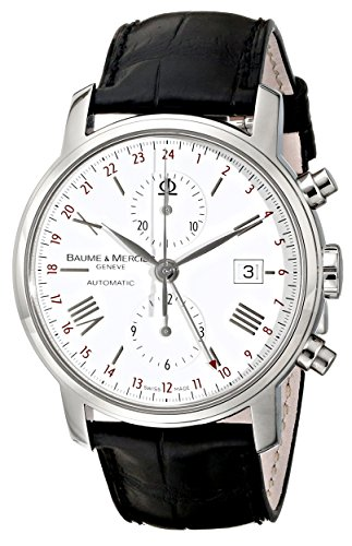 Baume & Mercier Men's 8851 Classima Executives Chronograph White Dial Watch ()
