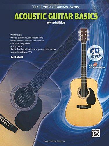 Ultimate Beginner Acoustic Guitar - Ultimate Beginner Acoustic Guitar Basics: Steps One & Two, Book & CD (The Ultimate Beginner Series)