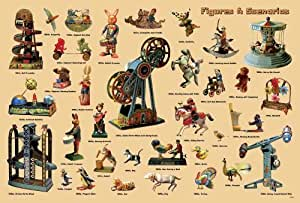 """J-4054 Figures & Scenarios Toys Collection Poster Size 24""""x35""""inch. Rare New - Image Print Phot"""
