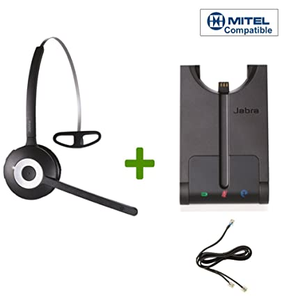 3857cd5abda Mitel (Aastra) certified Jabra Cordless Headset   PRO 920 Bundle    Electronic Remote Answerer