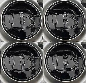 smart-brabus-black-wheel-centre-cap-badge-fortwo-roadster-forfour-cover-genuine