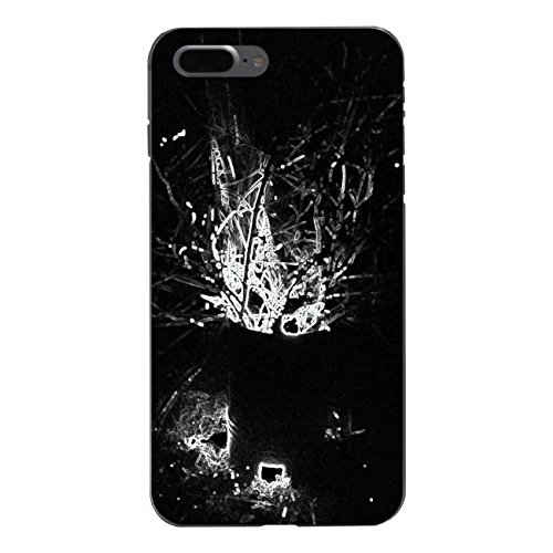 "Disagu Design Case Schutzhülle für Apple iPhone 7 Plus Hülle Cover - Motiv ""Black Burn"""
