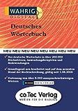 Wahrig digital Deutsches Wörterbuch 2007. CD-ROM: Neuauflage
