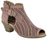 Earth Origins Women's Keri Wedge Sandal, Dusty Rose, 7.5 B(M) US