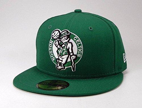 NBA Boston Celtics Hardwood Classics Basic 59Fifty Cap, Green, 7
