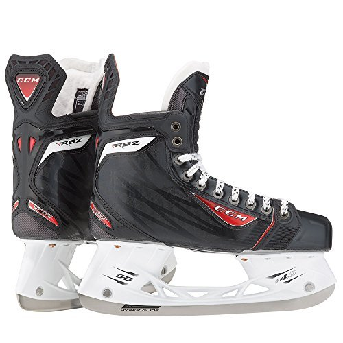 CCM New RBZ 90 Jr SK90 5 D Black/Red Ice Hockey Skates Junior by CCM