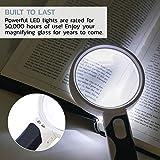 iMagniphy LED Illuminated Magnifying Glass