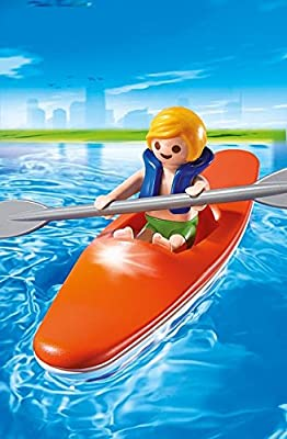6674 PLAYMOBIL Kid with Kayak Playset by Playmobil - Cranbury