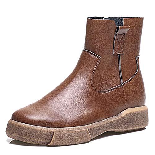 Stiefel Sports Vintage Damen Stiefel Lässig Warme Stiefel Frauen Flache Herbst Stiefel Winter Für Baumwolle Stiefeletten Outdoor Chelsea Martin Axnzwatqt