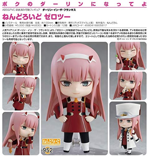 Good Smile Darling in The Franxx: Zero Two Nendroid Action Figure from Good Smile